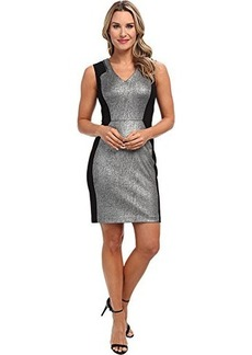 Kenneth Cole New York Women's Aurelie Dress, Pewter/Black, 6