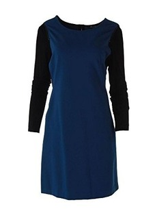 Kenneth Cole New York Women's Capri Dress, Lapis Talc/Black, 0