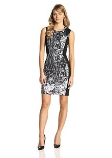 Kenneth Cole New York Women's Catalina Dress, Black/Multi, 10
