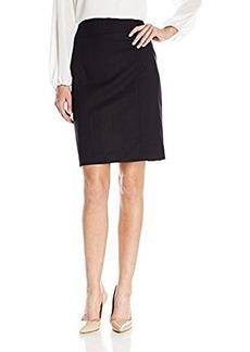Kenneth Cole New York Women's Chandler Skirt, Black, 6