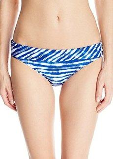 Kenneth Cole New York Women's Electric Stripe Sash Bikini Bottom