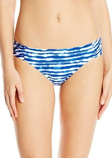 Kenneth Cole New York Women's Electric Stripe Sash Tab Bikini Bottom