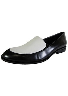 Kenneth Cole New York Women's Hudson Slip-On Loafer,Black/White,8.5 M US