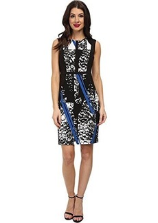 Kenneth Cole New York Women's Irene Dress, Delft Multi, 8