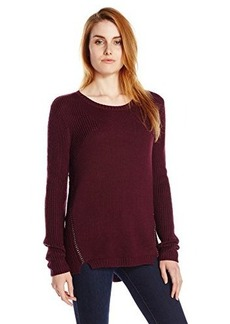 Kenneth Cole New York Women's Jannie Sweater, Port, Small