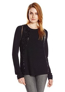 Kenneth Cole New York Women's Lilou Sweater, Black, Medium