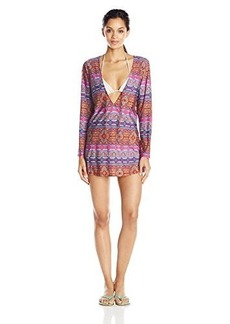 Kenneth Cole New York Women's Moroccan Me Crazy Long Sleeve Tunic