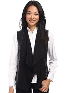 Kenneth Cole New York Women's Raigan Vest, Black, Large