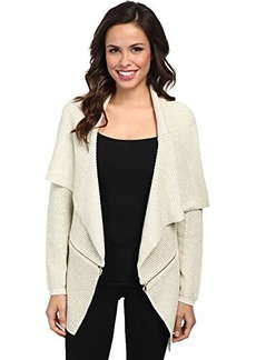 Kenneth Cole New York Women's Sabrina Sweater, Plaster/Gold, Large