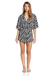 Kenneth Cole New York Women's Tribal Beat Kimono Shape Tunic