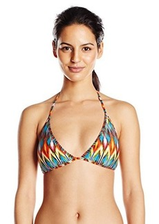 Kenneth Cole New York Women's Upon The Horizon Reversible Triangle Bikini Top