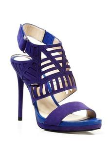 Kenneth Cole Open Toe Platform Sandals - Niko High Heel