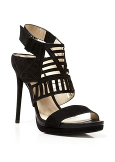 Kenneth Cole Open Toe Platform Sandals - Niko High Heel