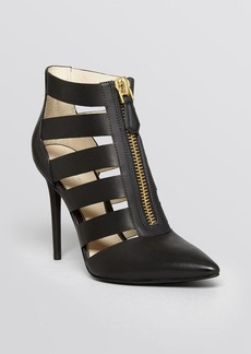 Kenneth Cole Pointed Toe Caged Booties - Williams High Heel
