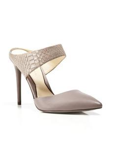 Kenneth Cole Pointed Toe Slide Pumps - Wendy High Heel