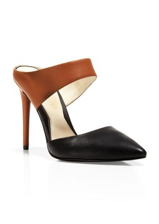Kenneth Cole Pointed Toe Slide Pumps - Wendy High Heel