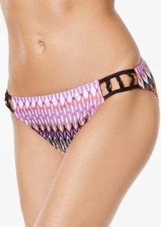 Kenneth Cole Printed Hipster Bikini Bottom Women's Swimsuit