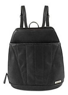 Kenneth Cole REACTION® 4 Easy Piece Black Backpack