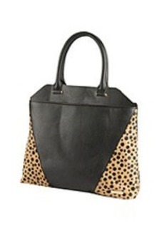 Kenneth Cole REACTION® 4 Easy Piece Black/Polka Dot Tote
