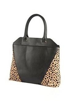 Kenneth Cole REACTION® 4 Easy Piece Black/Polka Dot Tote *