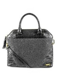 Kenneth Cole REACTION® 4 Easy Piece Grey/Pewter Satchel
