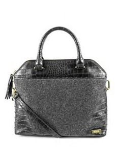 Kenneth Cole REACTION® 4 Easy Piece Grey/Pewter Satchel *