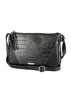 Kenneth Cole REACTION® 4 Easy Piece Pewter/Black Crossbody