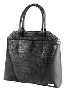 Kenneth Cole REACTION® 4 Easy Piece Pewter/Black Tote *