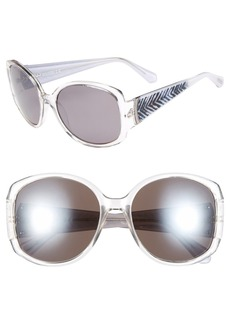 Kenneth Cole Reaction 59mm Square Sunglasses