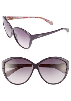 Kenneth Cole Reaction 60mm Soft Cat Eye Sunglasses