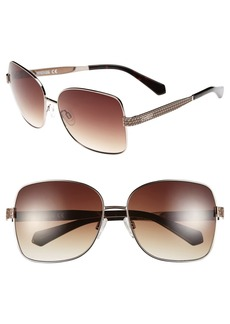 Kenneth Cole Reaction 60mm Sqaure Sunglasses
