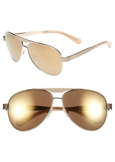 Kenneth Cole Reaction 62mm Aviator Sunglasses