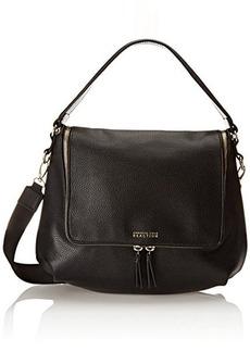 Kenneth Cole Reaction Avery Hobo Shoulder Bag, Black, One Size