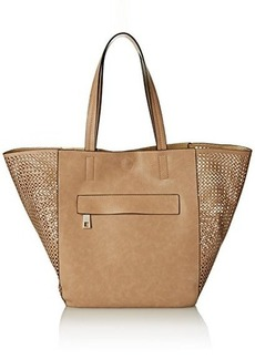 Kenneth Cole Reaction Bare Essentials Tote Travel Tote, Putty, One Size