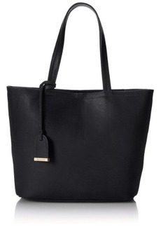 Kenneth Cole Reaction Clean Slate Shopper Tote Bag, Black, One Size