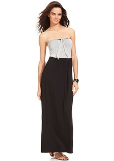 Kenneth Cole Reaction Colorblock Maxi Dress Cover Up