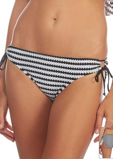 Kenneth Cole REACTION® Crochet Stripe Adjustable Swim Bottoms