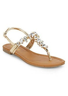 Kenneth Cole REACTION Drag Fire Jeweled Sandals