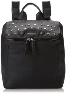 Kenneth Cole Reaction From The Top Backpack,Black with Studs,One Size