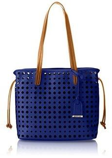 Kenneth Cole Reaction Holed Out Medium Shopper Shoulder Bag