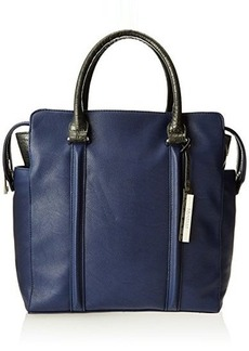 Kenneth Cole Reaction Northern Exposure Crocodile Tote,Indigo/Pewter,One Size