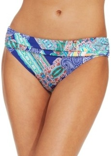 Kenneth Cole Reaction Paisley Bikini Bottom Women's Swimsuit