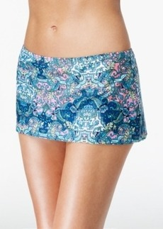 Kenneth Cole Reaction Paisley-Print Mini Swim Skirt Women's Swimsuit