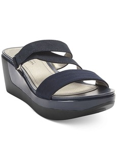 Kenneth Cole Reaction Pepe Time Stretch Platform Wedge Sandals