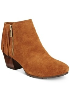 Kenneth Cole Reaction Pillates Fringe Booties Women's Shoes