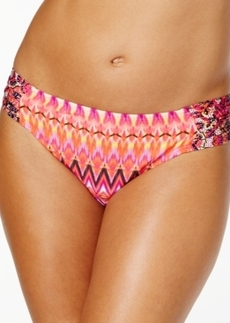 Kenneth Cole Reaction Printed Hipster Bikini Bottom Women's Swimsuit