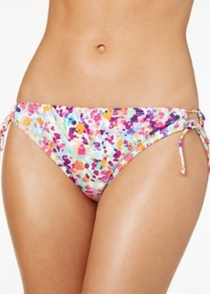 Kenneth Cole Reaction Printed Side-Tie Hipster Bikini Bottom Women's Swimsuit