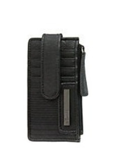 KENNETH COLE REACTION Snap Tab Card Holder