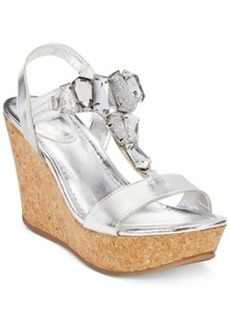 Kenneth Cole Reaction Sole Lites Platform Wedge Sandals Women's Shoes