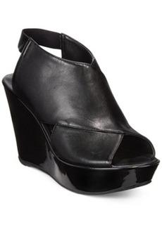 Kenneth Cole Reaction Sole Safe Platform Wedge Sandals Women's Shoes